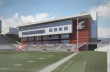 ALSC Architects | WSU Football Operations Facility, End Zone