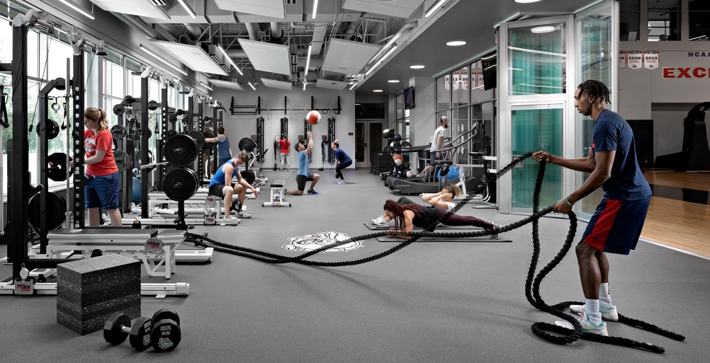 Volkar Center for Athletic Achievement Strength & Conditioning Center
